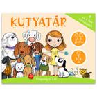 Calendarul câinilor joc de cărţi 4-în-1 în lb. maghiară