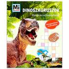 Mi Micsoda: Dinoszauruszok matricás rejtvényfüzet