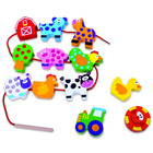 Tooky Toy: Farmállatkás összefűzhető fajáték