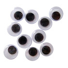 Ochi mobili care pot fi lipite - 10 buc. de 15 mm