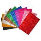Csillámos 10 darabos dekorgumi lapok