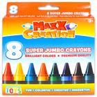 MaxxCreation: 8 darabos szuper tömzsi zsírkréta