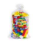 Combi Blocks: 100 darab műanyag építőkocka zsákban