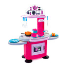 Chefs: Rózsaszín-lila játékkonyha 26 kiegészítővel