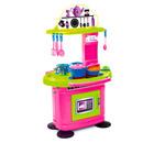 Chefs: Rózsaszín-zöld játékkonyha 26 kiegészítővel