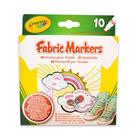 Crayola: set 10 markere pentru material textil