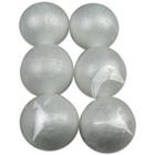 Globuri din polistiren - 6 buc. de 6 cm