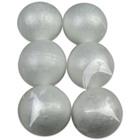 Globuri din polistiren - 6 buc. de 8 cm