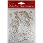 Csillámos angyalka ablakdekoráció - többféle