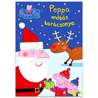 Peppa Malac: Peppa mókás karácsonya foglalkoztató matricákkal