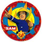 Pompierul Sam: farfurie carton 23 cm - 8 buc.