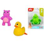ABC animale care plutesc pe apă - diferite