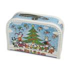 Bogyó şi Babóca: valiză cu design crăciun