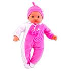 Loko baba - interaktív, rózsaszín ruhában - CSOMAGOLÁSSÉRÜLT