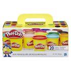 Play-Doh 20 tégelyes színes gyurma készlet - CSOMAGOLÁSSÉRÜLT