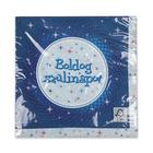 Boldog Születésnapot 16 darabos szalvéta - kék