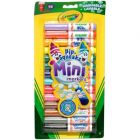 Crayola: 14 db kúpos hegyű mini filctoll - CSOMAGOLÁSSÉRÜLT