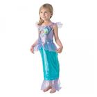 Mica Sirenă: Costum Ariel cu model inimioare - mărime S