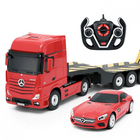 Mercedes-Benz Actros távirányítós autószállító kamion autóval