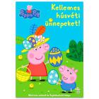 Peppa Malac: Kellemes húsvéti ünnepeket! foglalkoztató könyv