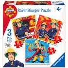 Sam a tűzoltó: 3 az 1-ben puzzle - 25-36-49 darabos