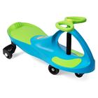 BoboCar Mașinuță fără pedale cu roţi din cauciuc - albastru deschis-verde
