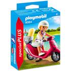 Playmobil: Lány robogón 9084