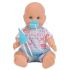 New Born Baby: pisilős baba kék ruhában