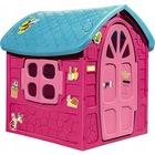 Căsuţă de joacă cu design primăvară - roz