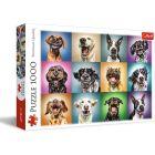 Trefl: Vicces kutyák 1000 darabos puzzle