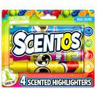 Scentos: 4 darabos illatos szövegkiemelő - alapszínek