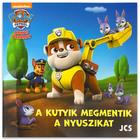 Paw Patrol: Căţeluşii salvează iepuraşii - carte de poveşti în lb. maghiară
