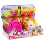 Bunnies - Set cu 2 buc. figurine iepure cu magnet - diferite culori