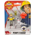 Sam, a tűzoltó: Penny és Radar figura