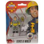 Pompierul Sam: Figurinele Elvis şi Wolly
