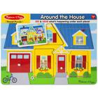 Melissa and Doug: în jurul casei - puzzle cu sunet