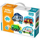 Trefl: járművek 3-4-5-6 darabos baba puzzle