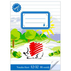 ICO Süni gata pentru şcoală: caiet cu linii pentru clasa a III-a - A5, 12-32