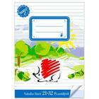 ICO Süni gata pentru şcoală: caiet cu linii pentru clasa a IV-a - A5, 21-32