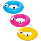 Bestway: mókás szemek úszógumi - 91 cm, több színben
