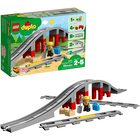 LEGO DUPLO: Pod și șine de cale ferată 10872