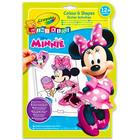 Crayola: Minnie Mouse carte de colorat cu abţibilduri
