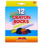 Maxx Creation: 12 buc. creioane cerate Crayon Rocks