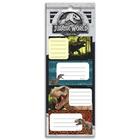 Jurassic World: etichete caiete - 20 buc.