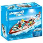Playmobil: Motorcsónak vízalatti motorral 9428