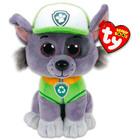 TY Beanie Babies: Paw Patrol figurină Rocky de pluş - 15 cm
