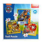 Paw Patrol: puzzle 3-în-1