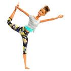 Barbie Made To Move: Barbie flexibilă cu păr brunet - yoga
