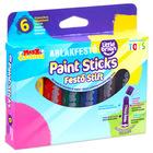 Little Brian: 6 buc. Stift pentru pictat ferestre - culori clasice