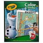 Crayola Frozen: Carte de colorat cu stickere colorate